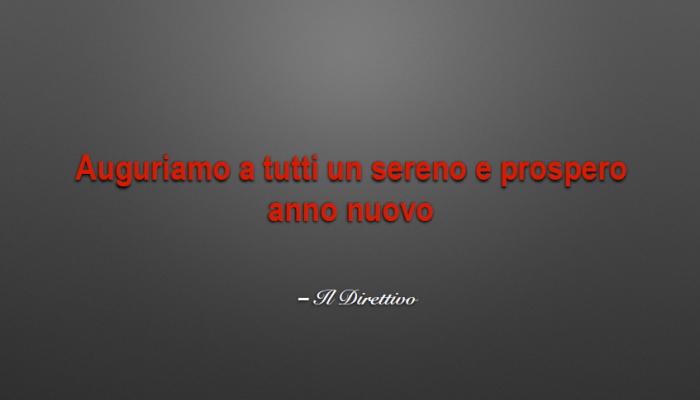 RIUNIONE DI FINE ANNO SOCI B&M
