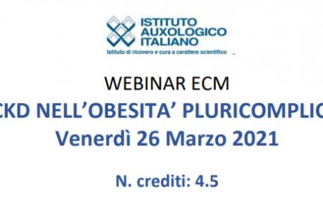 Webinar ECM VLKCD nell'obesità pluricomplicata