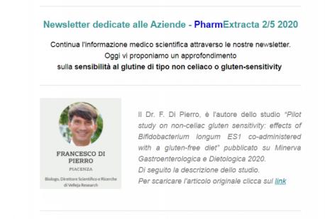 Pharm-Extracta: approfondimento sulla sensibilità al glutine di tipo non celiaco o gluten-sensitivity