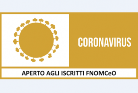 CORONAVIRUS - UN CORSO FAD DEDICATO