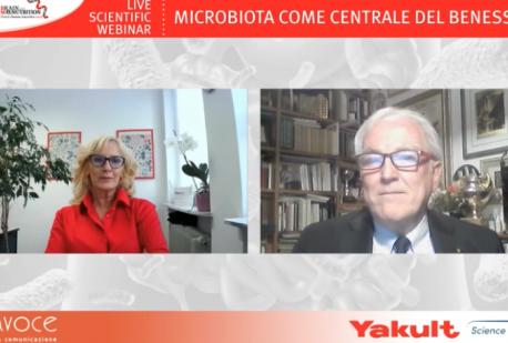 Live scientific webinar 'Microbiota come centrale del benessere'