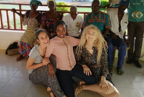 Di ritorno dal Ghana!