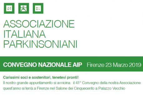 41° CONVEGNO NAZIONALE AIP -  Firenze, 23 marzo 2019