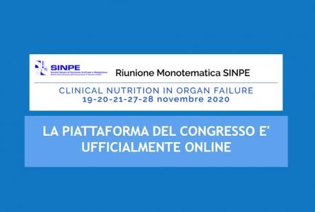 Riunione Monotematica SINPE 2020