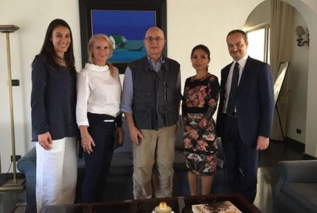 Ghana 2018 -  B&M e Fondazione Grigioni incontrano l'Ambasciatore italiano