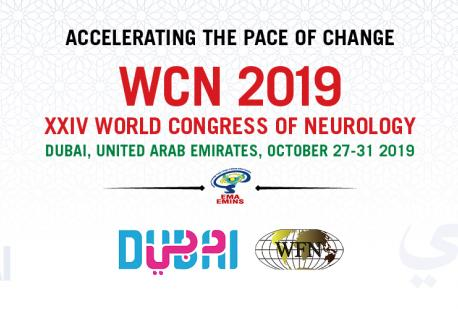 World Congress of Neurology, DUBAI 2019